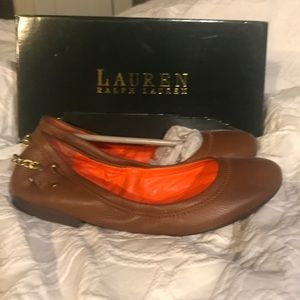 Ralph Lauren flat shoes